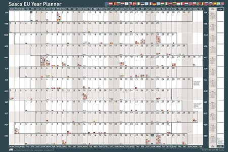 Sasco 2018 EU Planner Mounted Ref 2401780-2018