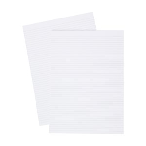 Business Memo Pad Ruled Narrow 160 Sheets A4 White (Pack of 10)