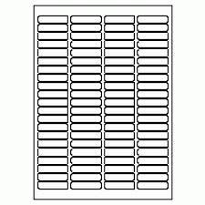 Basics Laser Labels 46 x 11.1mm White (Pack of 8400 Labels)