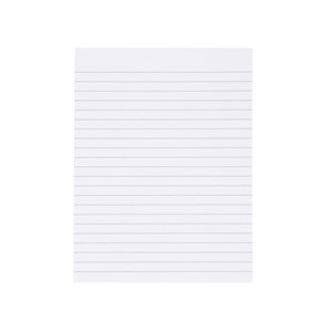 Business Memo Pads 60g Feint Ruled A5 (Pack of 1)