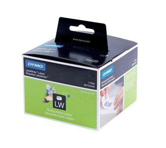 Dymo Multi-Purpose Label 57x32mm Pack 1000 White Ref S0722540 Each