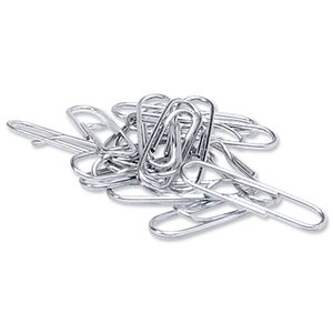 Business Metal Paperclips Large 33mm Lipped (Pack of 1000)