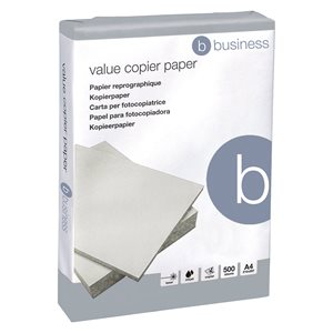 Business Copier Paper 80gsm 500 sheets per Ream A4 White (Pallet of 240 Reams)