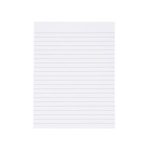 Business Value Memo Pad Headbound 60gsm Ruled 160pp 150x200mm White Paper Pack 10