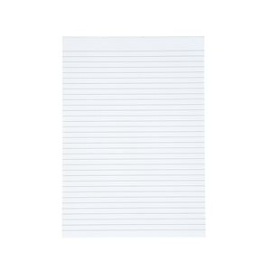 Business Value Memo Pad Headbound 60gsm Ruled 160pp A4 White Paper Pack 10